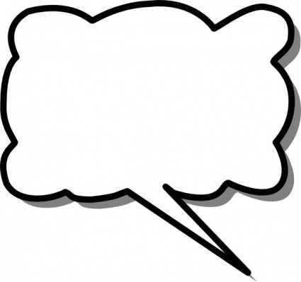 425x399 Speech Bubbles Speech Bubble Clip Art Clipart 2 Famclipart