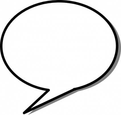 425x404 Speech Bubbles Speech Bubble Clip Art Clipart 2 Famclipart 2