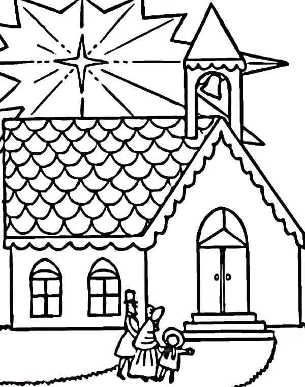 600x760 Coloring Pages Best Church Color Images On Quote Colouring