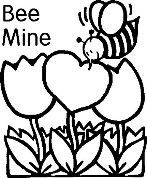 496x600 Printable Valentine Coloring Pages Delightful Best Quotes Clip Art