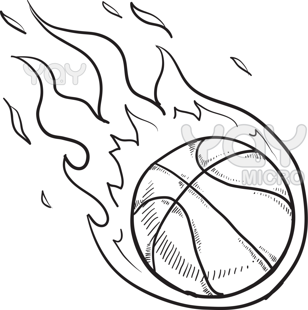 1201x1210 Basketball Coloring Page Pages Free