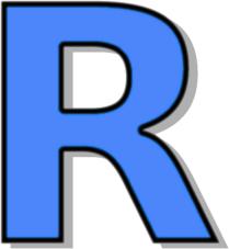 209x227 Capitol R Blue Clip Art Download