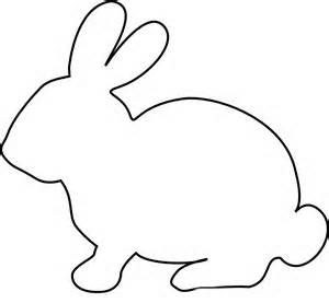 300x277 Black And White Clipart Of Rabbit