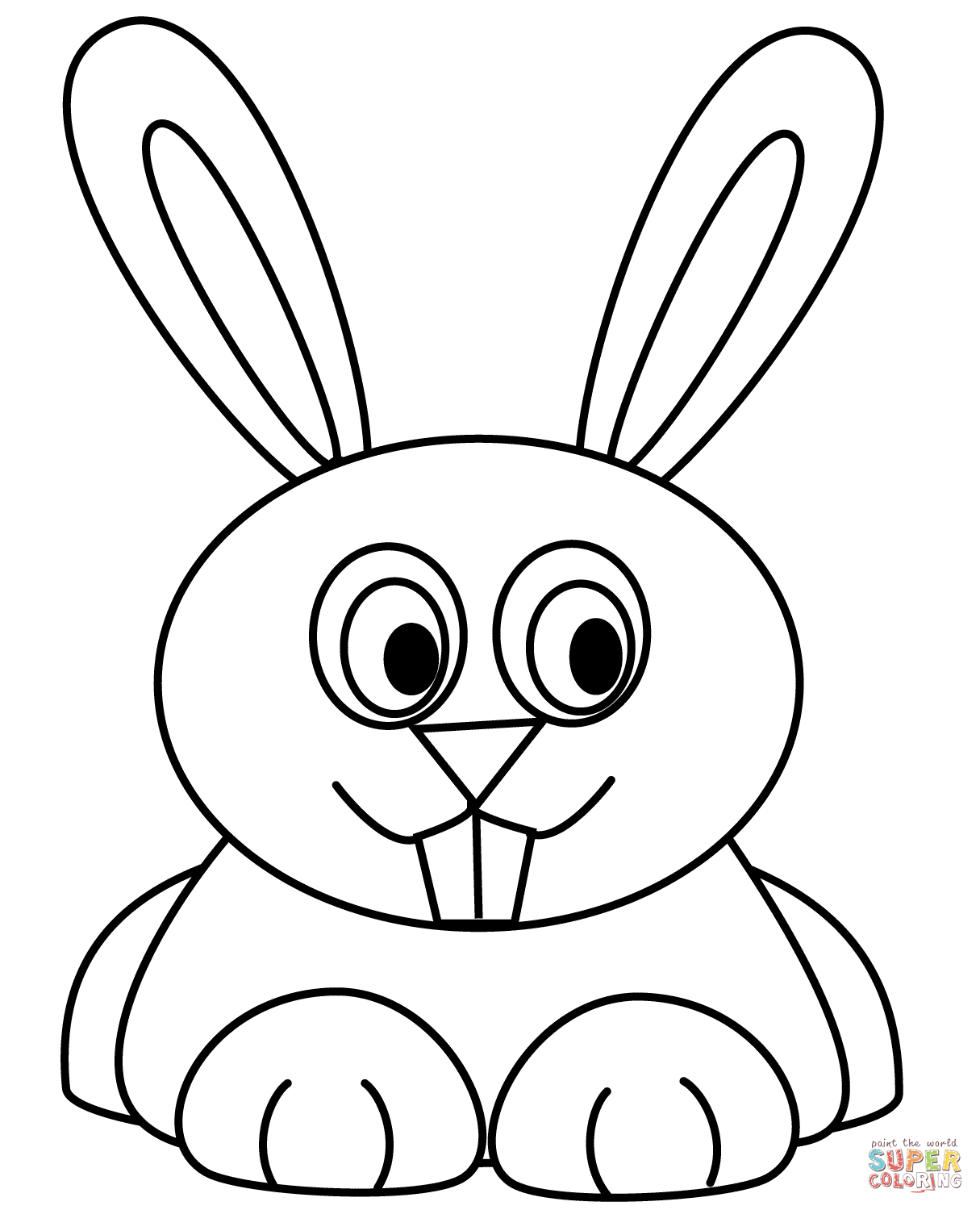 1215x1500 Rabbits coloring pages Free Coloring Pages
