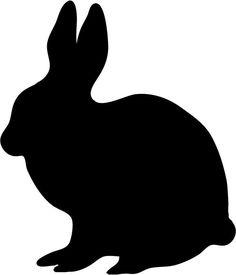 236x275 Bunny Silohette Image Rabbit Silhouette Clip Art