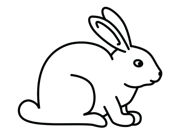 618x464 Coloring Pages Rabbit Baby Rabbit Coloring Pages Color In A Bunny