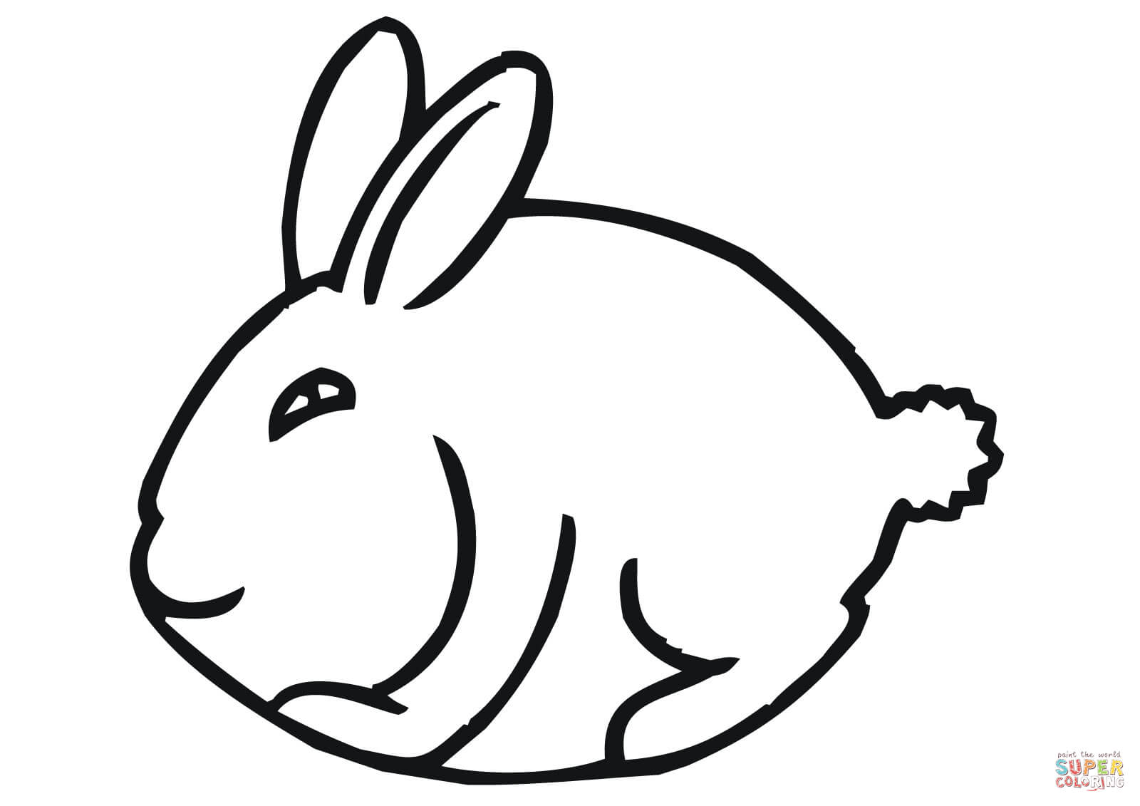 Rabbit Coloring Pages Free download best Rabbit Coloring Pages on