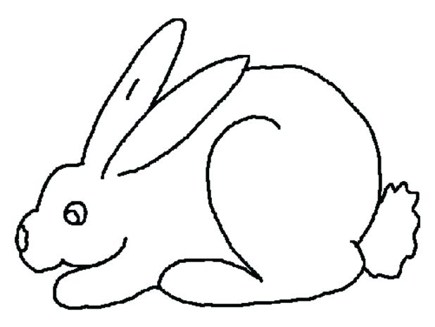 618x464 Rabbits Coloring Page Pages 7 Com