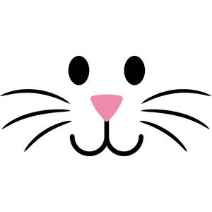 300x300 Face Clipart Easter Bunny