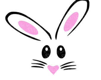 340x270 Whiskers Clipart Easter Bunny