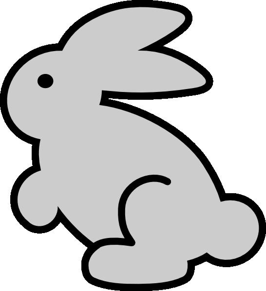 546x598 Bunny Clip Art