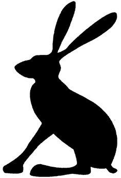 236x347 Hare Silhouette