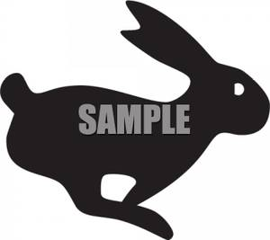 300x267 Jack Rabbit Clipart