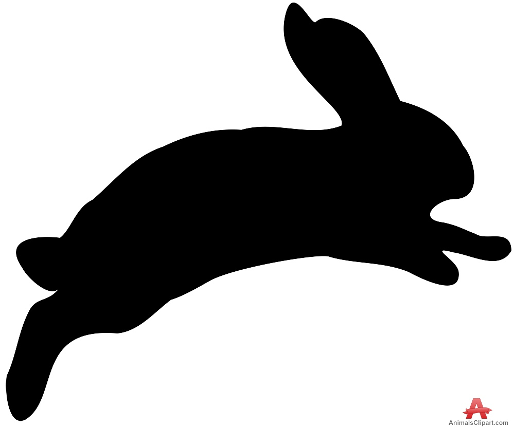 999x835 Jumping Rabbit Silhouette Clipart Free Clipart Design Download