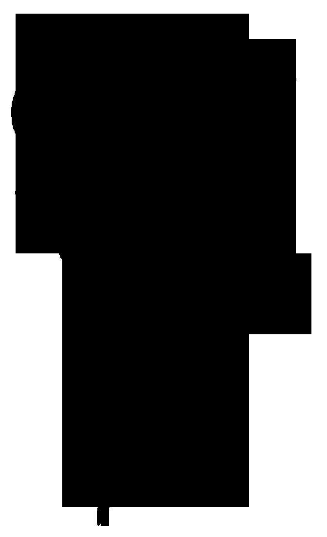 672x1102 Silhouette Clip Art