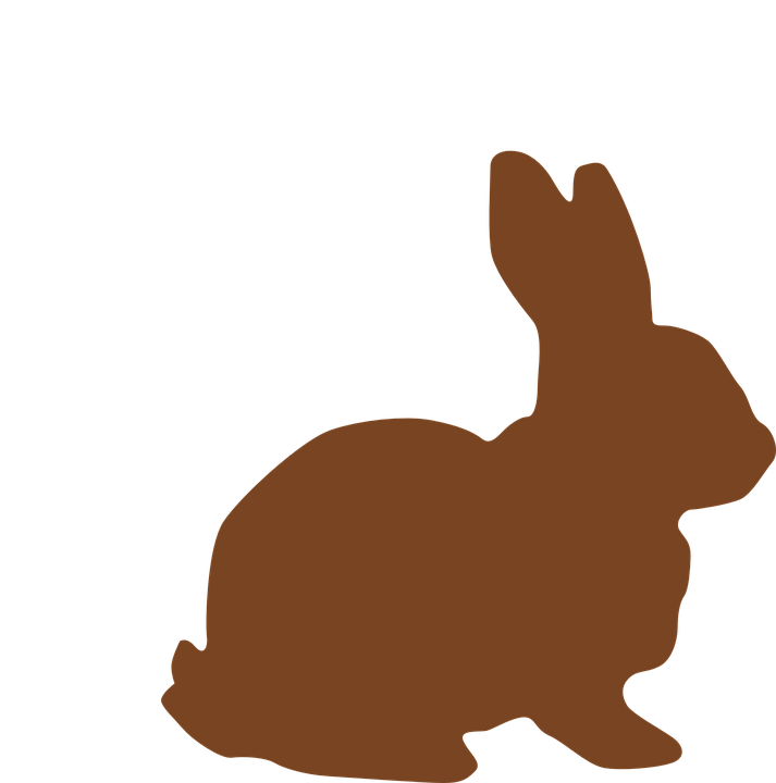 713x720 Rabbit Clipart Side View
