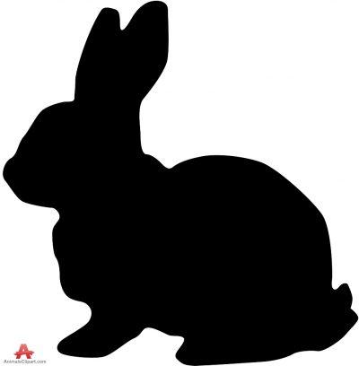 400x408 Shaow Clipart Rabbit