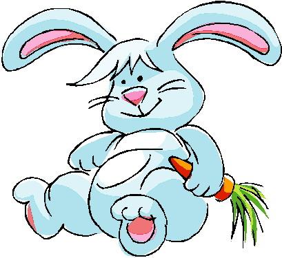 409x375 Clip Art Clip Art Rabbits Image