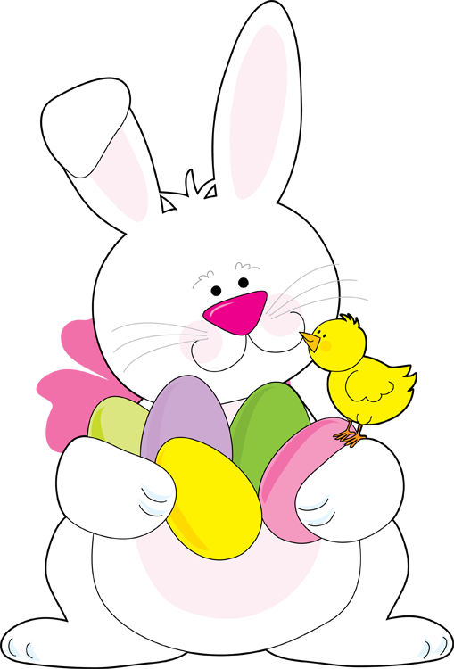 509x750 Easter Bunny Clip Art Free Download Clipart 3