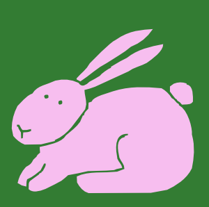 300x298 Hop To Free Rabbit Clip Art