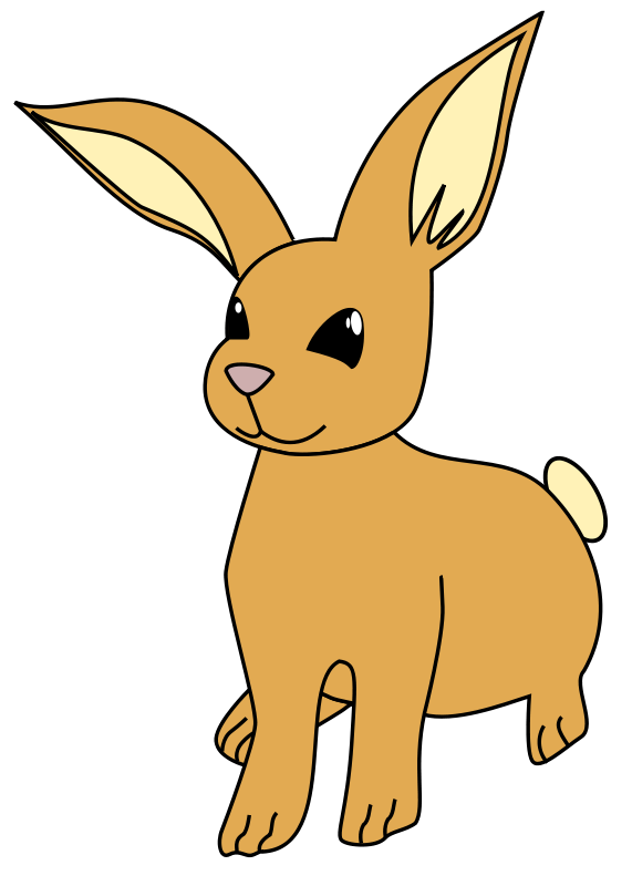 571x800 Bunny Clipart Pet Rabbit