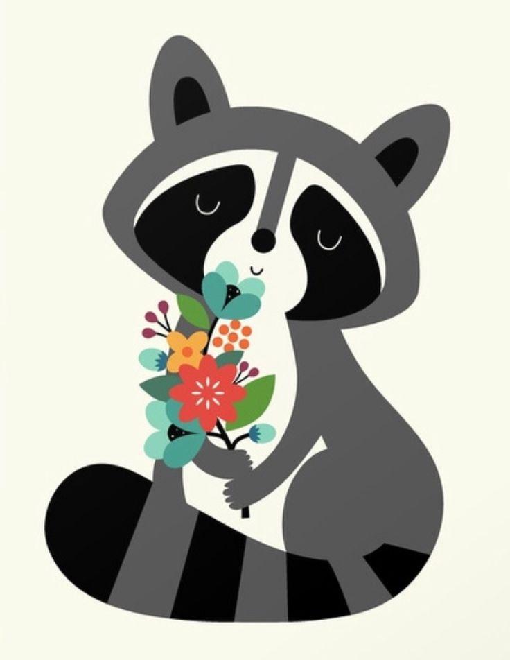 Raccoons Clipart