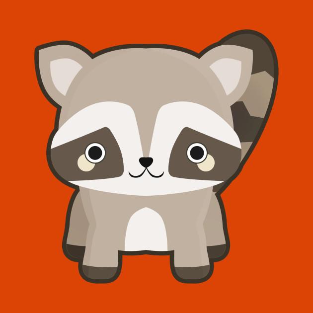 630x630 Kawaii Raccoon
