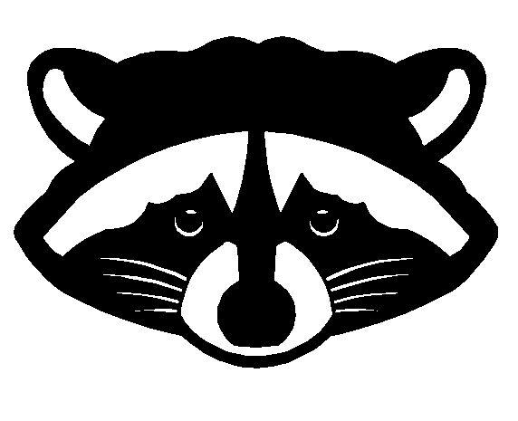 572x465 Raccoon Clipart Head