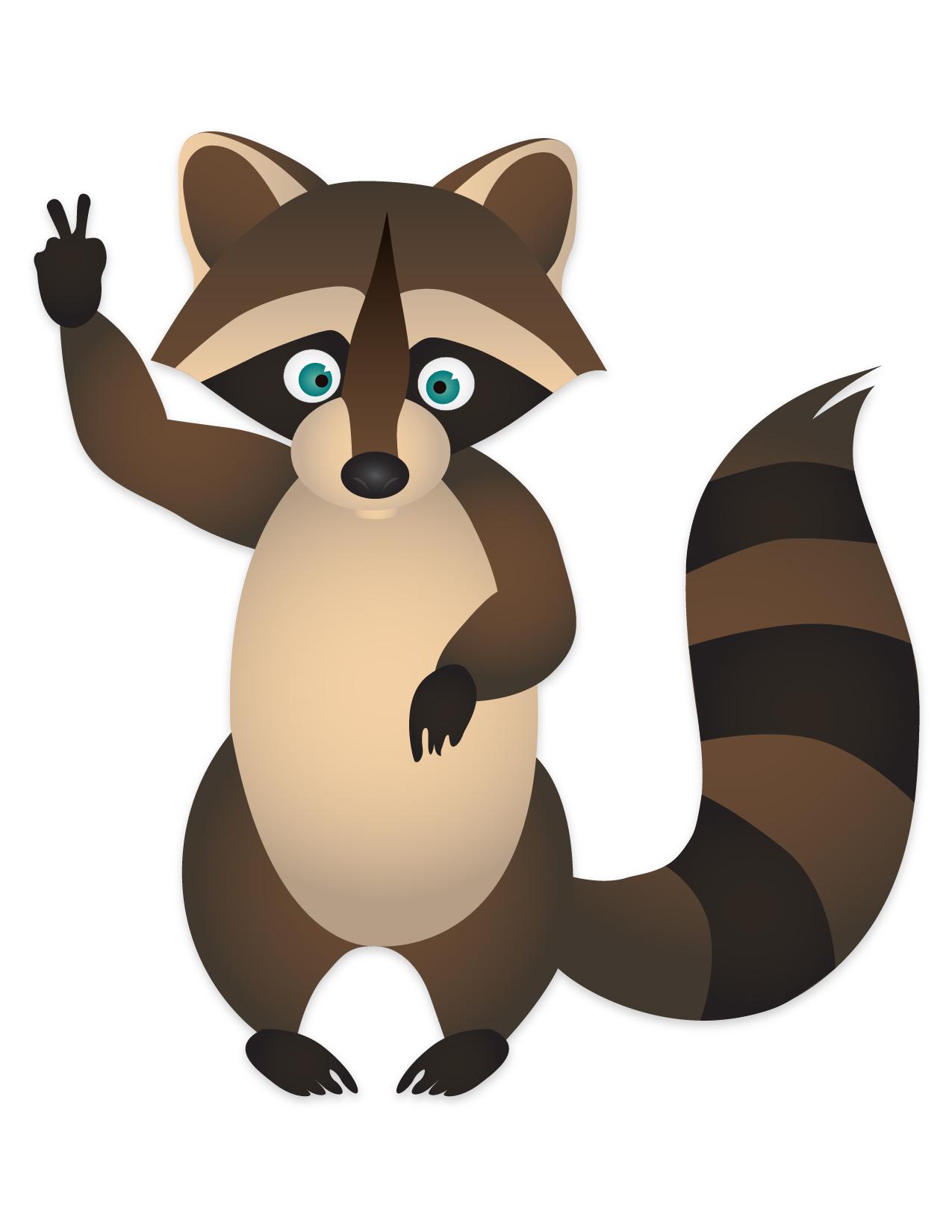1275x1650 Raccoons