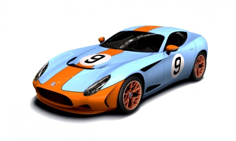 Race Car Animated