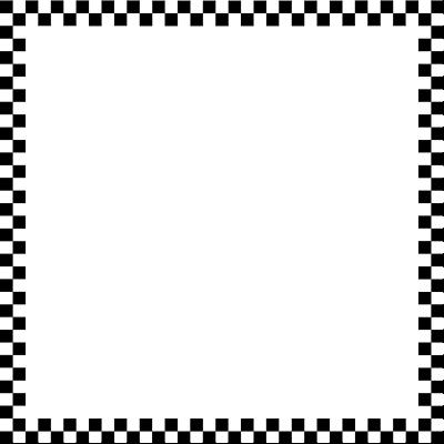 400x400 Checkerboard Clipart Race Car