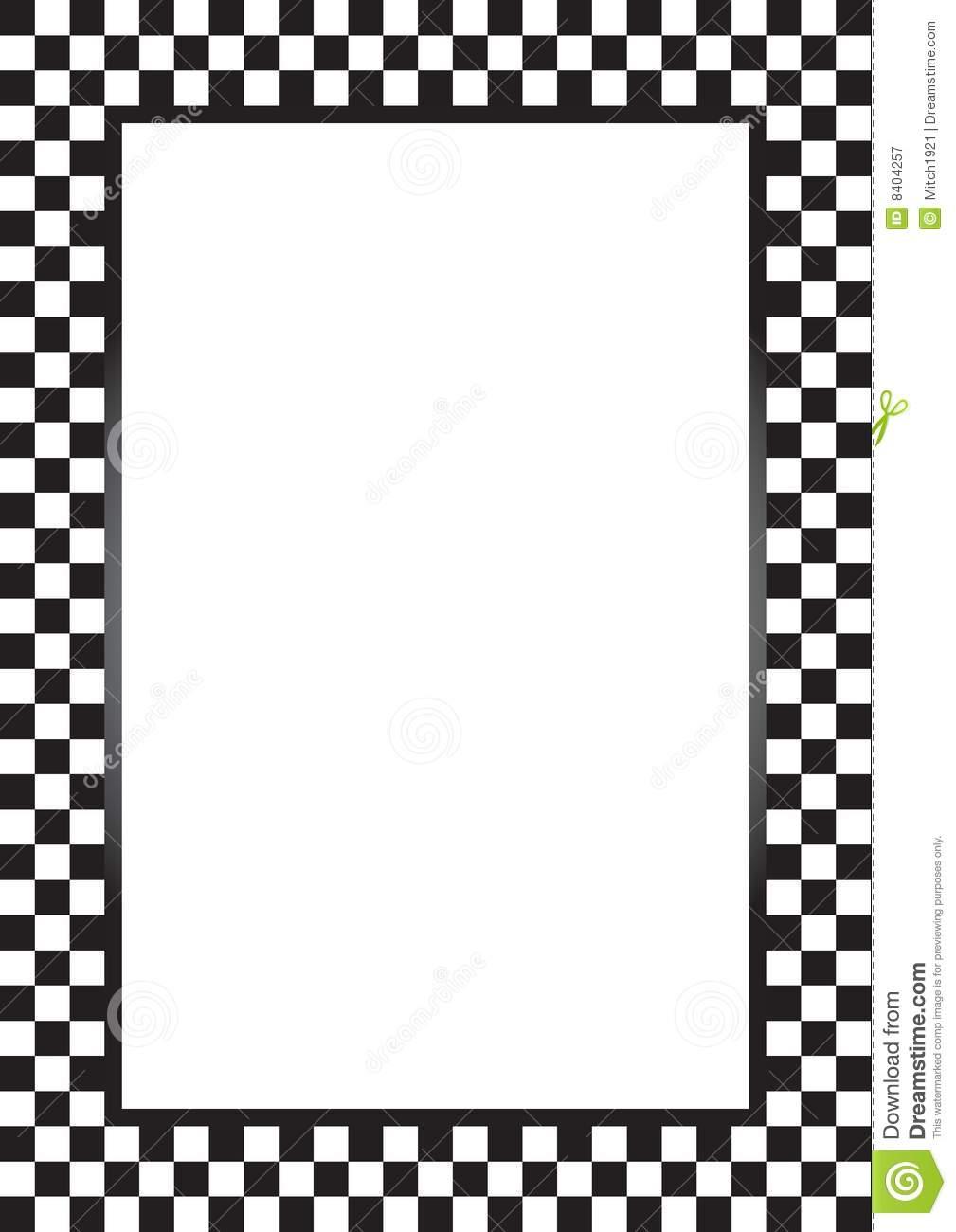 1009x1300 Race Car Clipart Border
