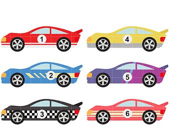 340x270 Race Car Clipart 2