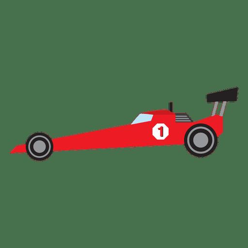 512x512 Formula One Racing Car Cartoon