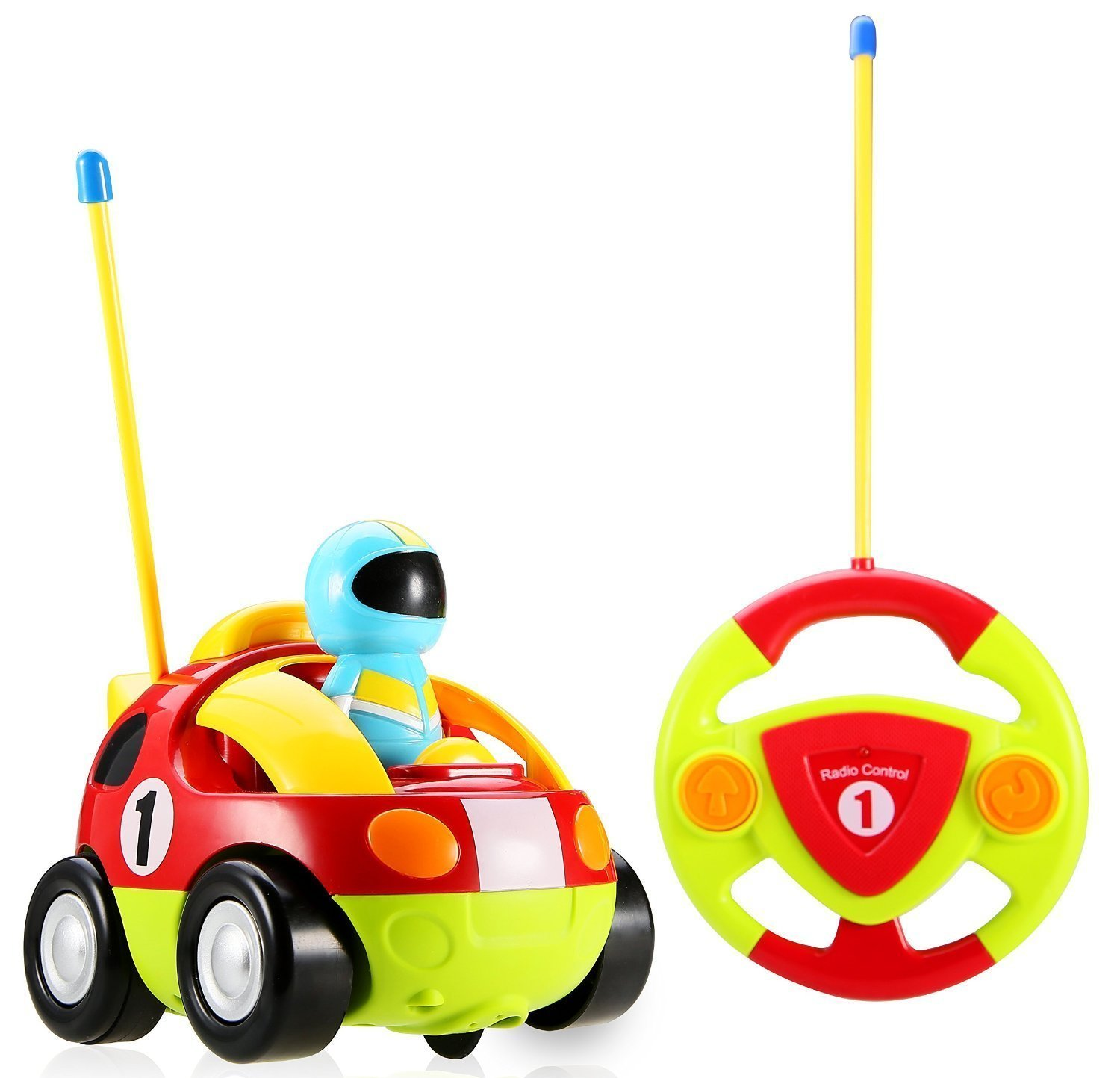 1500x1443 Cartoon Rc Race Car Radio Control Toy For Toddlers By