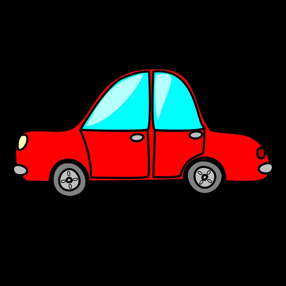 958x958 Cartoon Race Car Clipart