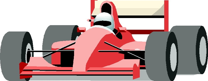 817x319 Race Car Clip Art