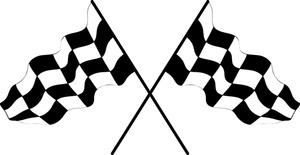 300x155 Checkerboard Clipart Race Car