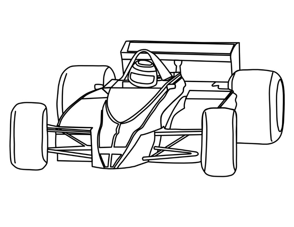 1024x791 Free Printable Race Car Clipart