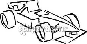 300x154 Race Car Clipart Black And White Clipart Panda