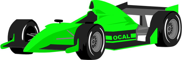 600x200 Race Car Clipart Image A Racing