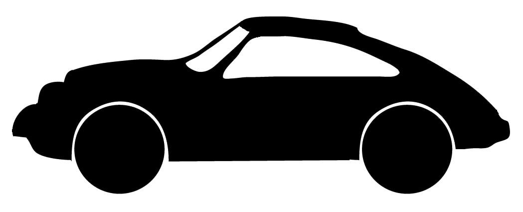 1049x425 Car Clipart Silhouette
