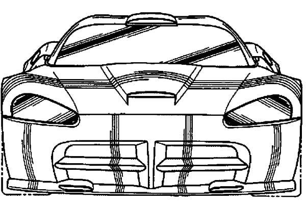 600x400 Dodge Viper Gtsr Car Coloring Pages Coloring Sky