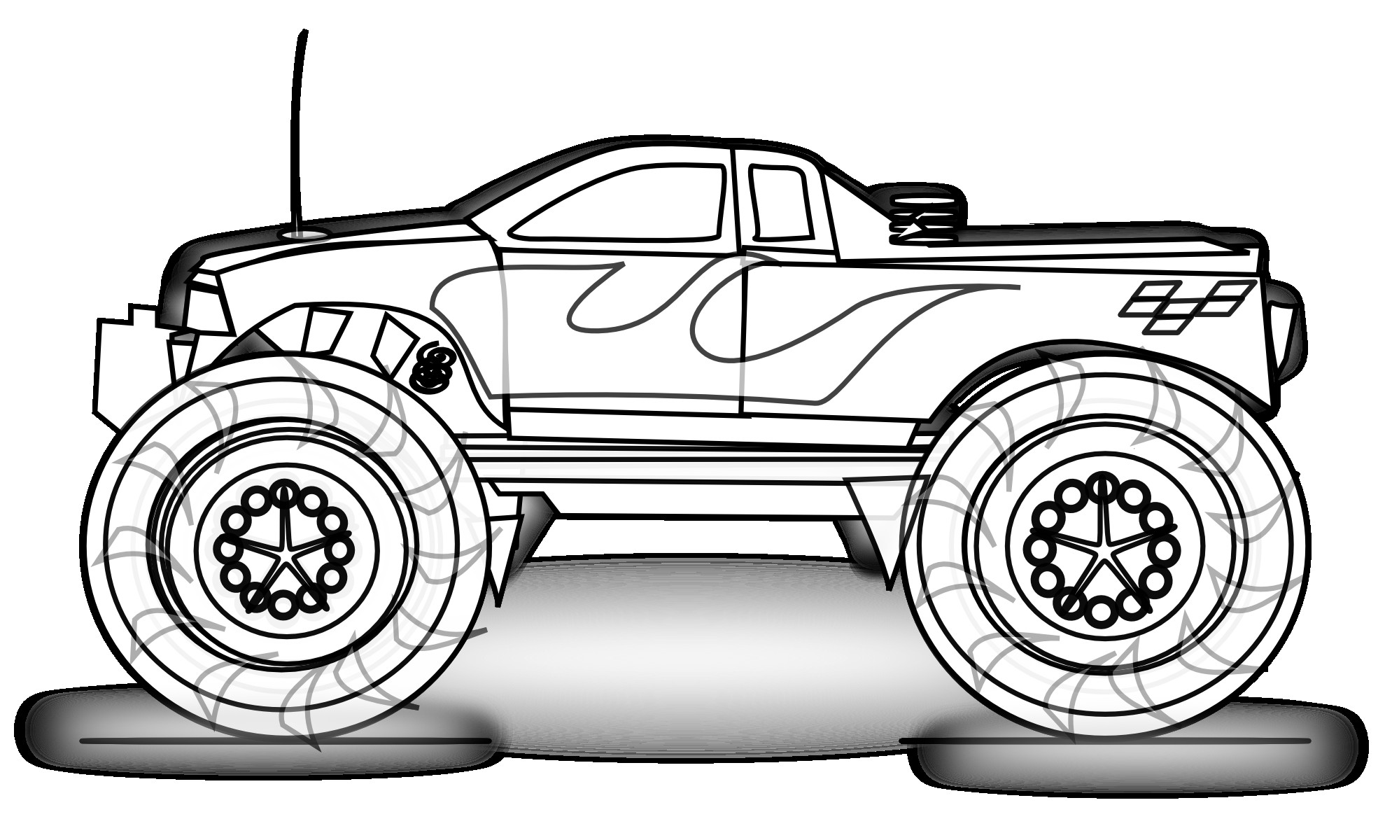 Race Car Coloring Pages | Free download on ClipArtMag