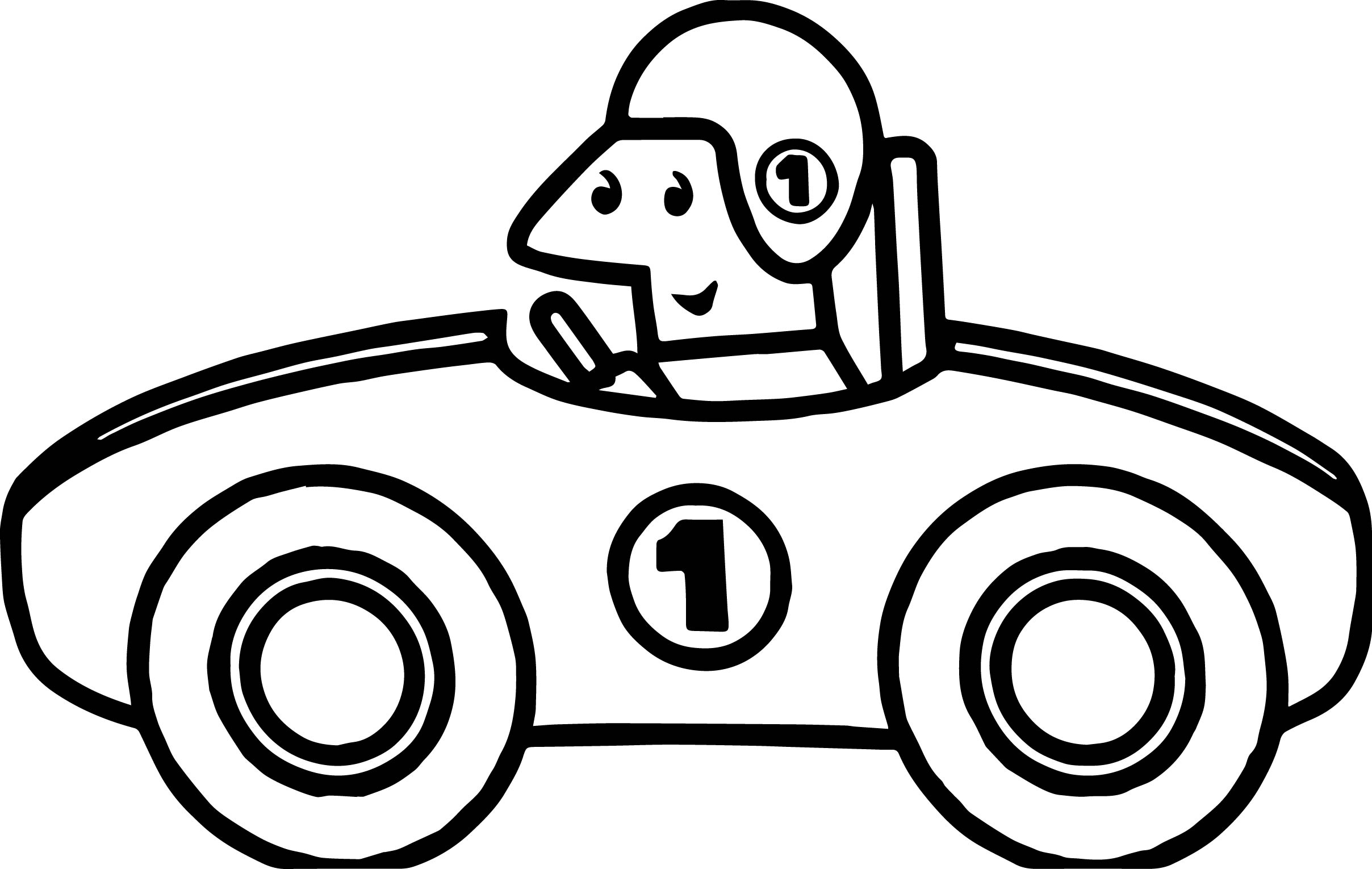2416x1530 One Number Old Race Car Coloring Page Wecoloringpage