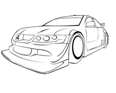 405x326 Printable Race Car Coloring Pages Coloring Me