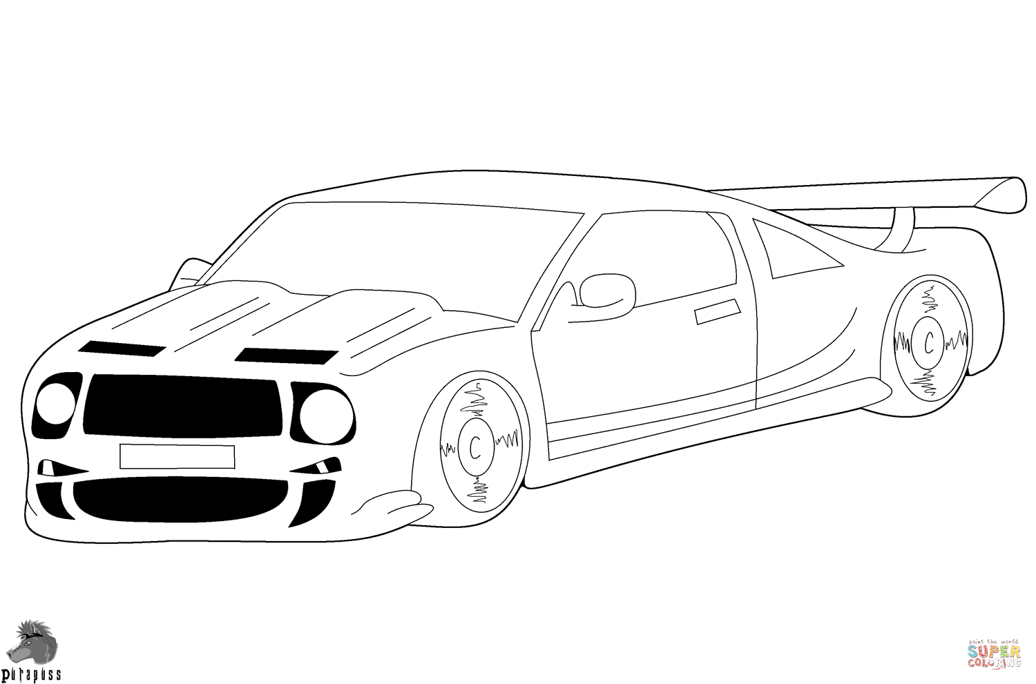 1500x991 Race Car Coloring Page Free Printable Pages