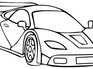 320x240 Race Car Coloring Pages Koenigsegg Race Car Sport Coloring Page