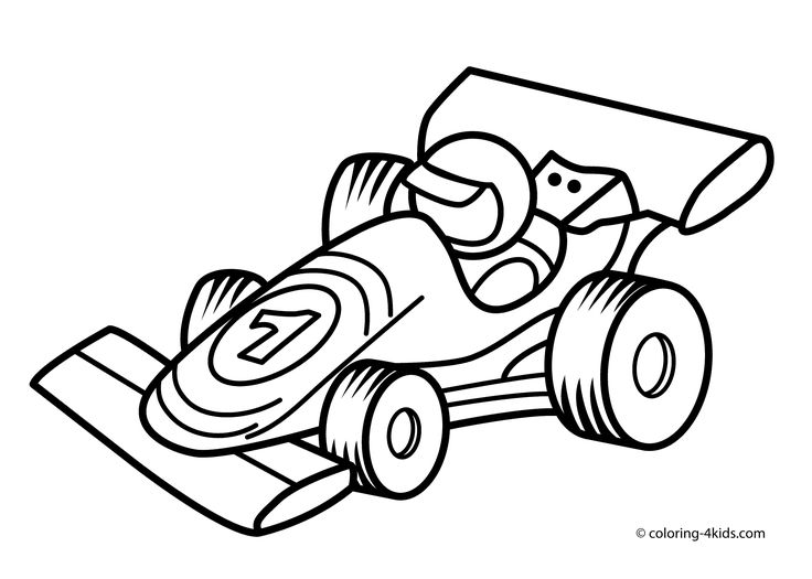 736x525 The Best Race Car Coloring Pages Ideas Race Car