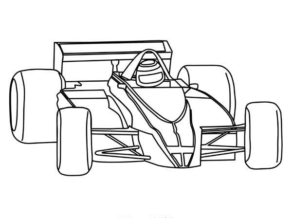 600x448 Transportation Race Car Coloring Pages Transportations